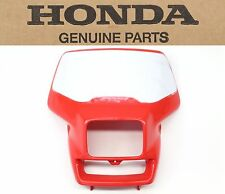 Genuine Honda Front Headlight Shroud 00-07 XR650 R OEM Plastic Shell #F36