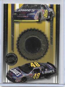 2002 PRESS PASS PREMIUM HOT THREADS JIMMIE JOHNSON NASCAR RACING NICE