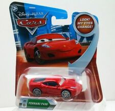 CARS - FERRARI F430 - Mattel Disney Pixar Eyes Change