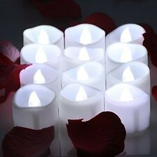 LED Tea Lights Candles With Timer Battery Operated Candle Unscented Flameless