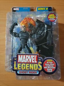 2002 MARVEL LEGENDS GHOST RIDER ( SERIES III 3 ) ~ BRAND NEW SEALED + Comic