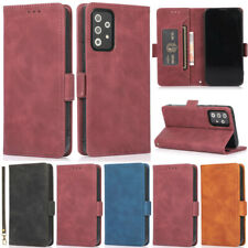 Matte Wallet Leather Flip Cover Case For Samsung A22 A52 A12 A32 A51 S21 S20 S10
