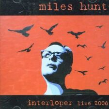 MILES HUNT - INTERLOPER NEW CD