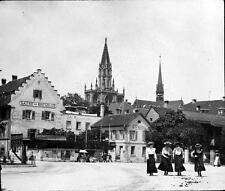 Photo. 1900s. Konstanz, Germany. View - Church