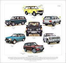 Range Rover (1970-2007) Fine Art Print - Classic 2-Door P38A Lse Csk Vogue L322