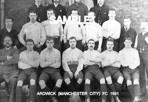Ardwick (Manchester City) FC 1891  Team Photo