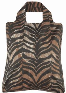 Envirosax Omnisax Savanna Bag 3 Stripe Print Reusable Shopping Bag