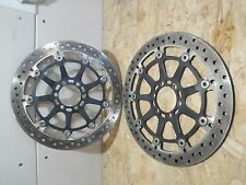KTM RC8 RC8R 2012 FRONT ROTORS STOCK OEM