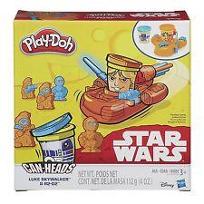 Play-Doh Star Wars Can Heads - Luke Skywalker & R2-D2 *BRAND NEW*