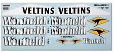 "GPD DECALS F1 1/18 1999 Williams FW21 Schumacher Zanardi ""Race Livery Fill-In"""