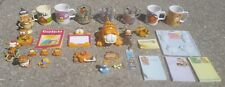 GARFIELD CAT LARGE LOT Toys/Cup/Mugs/book/Xmas ornaments/note pad/reflector/mold