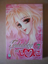 FORBIDDEN LOVE Vol.7 Tomu Ohmi 2012 ed. Gp Manga [G245]