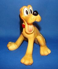 """DISNEY'S EVAN K. SHAW/AMERICAN POTTERY PLUTO THE PUP SITTING 5 1/2"""" - EXCELLENT!"""
