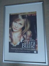 TARA BLAISE POSTER 2005 UNRELEASED POSTER DANCING ON THE TABLES BAREFOOT PROMO