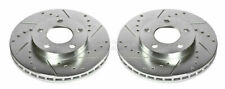Disc Brake Rotor Set Front POWER STOP AR8141XPR fits 94-04 Ford Mustang