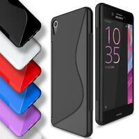 Sony Xperia X Silicone Gel S Line Case Cover Ultra Thin Slim Back Bumper