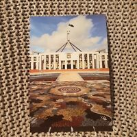 Indigenous Mosaic - New Parliament House, Canberra, ACT - Vintage Postcard
