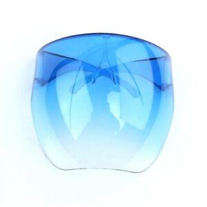 Clear Face Shield Glasses Face Mask Transparent Reusable Visor Anti-Fog Dust