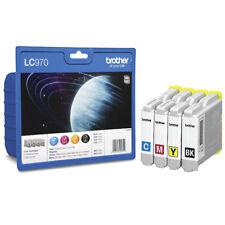 Orig. Brother LC970VALBP Original Tintenpatronen Value Pack 4er-Set Neu Aktion!