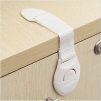 5pcs/lot baby lock Baby safty Drawers lock Bendy Door Safety Lock For Child Kids