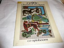 CELTIC CHARTED DESIGNS CO SPINHOVEN PAPERACK 1987 VANNESSA & CHARLOTLE MALONE