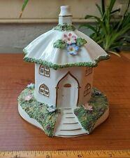 Coalport Porcelain Umbrella House Cottage Pastille Burner Ornament Bone China