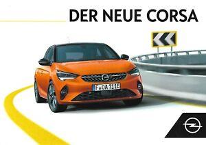 Prospekt / Brochure Opel Corsa 08/2019 mit Preisliste