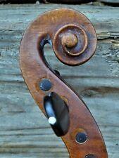 "Alte Geige m. Zt. ""J. GALLANUS FECIT NEAP. 1746"" - Old violin"