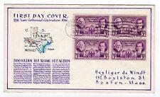 #776 Texas Centennial George Laffert Hand-Drawn First Day Cover 1936