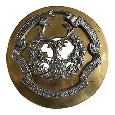 More details for gordon-highlanders-victorian-officer-plaid-brooch