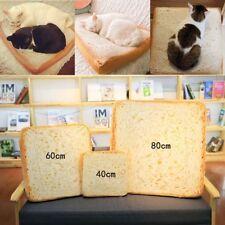 Dog Play Resting Soft Mat Pet Cat Toast Bread Sleeping Beds Foam Cushion Puppy