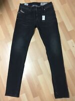 NWD MEN Diesel TROXER Stretch Denim R9F66 BLACK Slim W31 L32 H6 RRP£150