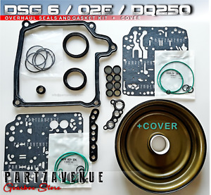 DQ250 , 02E,DSG 6,Overhaul with cover VW AUDI Gearbox seals and gasket Kit
