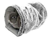Snuggles Reversible Tunnel Cage Hutch Bed Rabbit Kitten Hamster