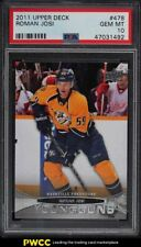 2011 Upper Deck Young Guns Roman Josi ROOKIE RC #478 PSA 10 GEM MINT
