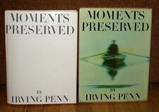 SIGNED Irving Penn Moments Preserved Gravure Color Photographs HC DJ Slipcase