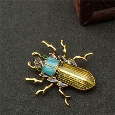 Cute Kids Alloy Birthday Rhinestone Enamel Brooch Pin Jewelry Insect Women