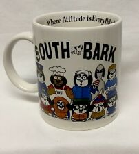 South Bark Coffee Cup Mug South Park Parody by Big Dogs 1998 collectible