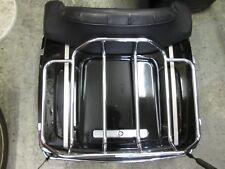 OEM Harley FLTHC Tour Pak Pack Luggage Box 97-08 Vivid Black w/ Anniversary Pins