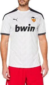 Valencia CF Home Stadium Football Shirt Large Puma Jersey La Liga BNWT Sponsor