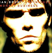 IAN BROWN unfinished monkey business (CD album) abstract, lo-fi, indie rock