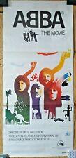 ABBA THE MOVIE POSTER Australian Daybill Vintage Rare Film Movie 75.5cm x 34cm
