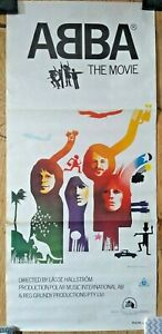 ABBA THE MOVIE POSTER Australian Daybill Vintage Rare Film Movie 75.5cm x 34cm