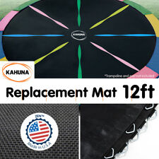 Rainbow 12ft REPLACEMENT TRAMPOLINE MAT ROUND OUTDOOR SPARE PARTS