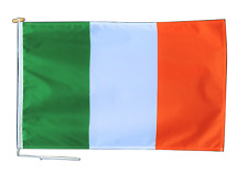 More details for ireland flag with rope and toggle - various sizes