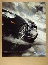2005 Michelin Tires BRABUS SL K8 Mercedes photo vintage print Ad