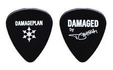 Damageplan Dimebag Darrell Signature Black Guitar Pick - 2004 Tour Pantera