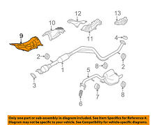 MAZDA OEM 06-10 5 2.3L-L4 Exhaust-Heat Shield C23556442B