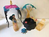 Monster High, 13 Wishes, Desert Fright Oasis Playset with Cleo De Nile Complete