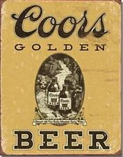 Coors Signs Barware